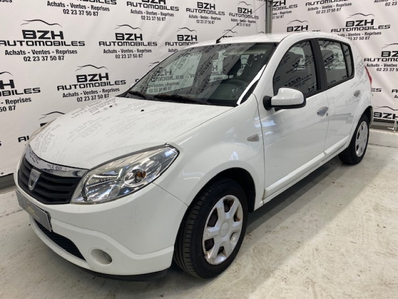Dacia SANDERO 1.4 MPI 75CH GPL LAUREATE GPL BLANC Occasion à vendre