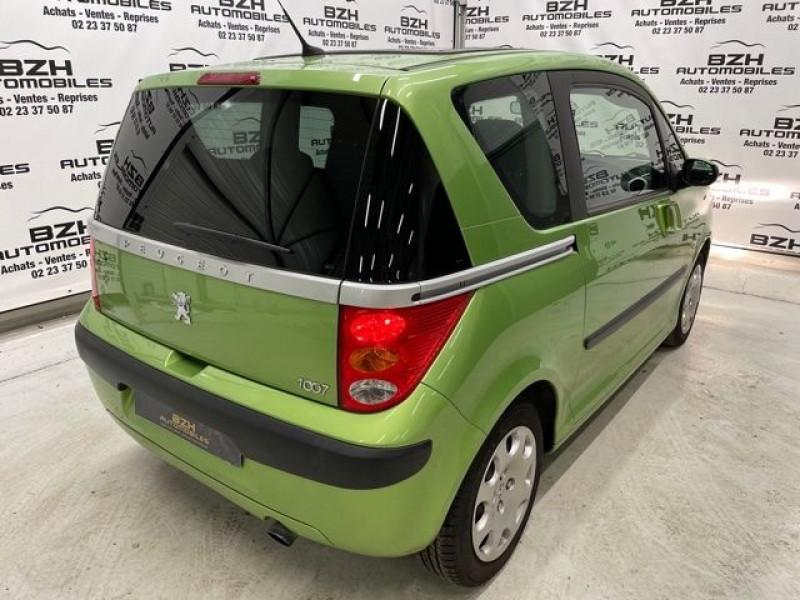 Photo 4 de l'offre de PEUGEOT 1007 1.4 HDI DOLCE à 5490€ chez BZH Automobiles