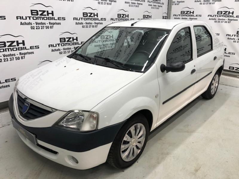 Dacia LOGAN 1.6 MPI 90CH LAUREATE Essence BLANC Occasion à vendre