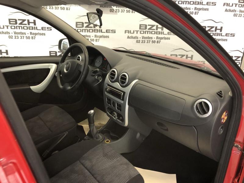 Photo 4 de l'offre de DACIA SANDERO 1.4 MPI 75CH GPL à 4490€ chez BZH Automobiles