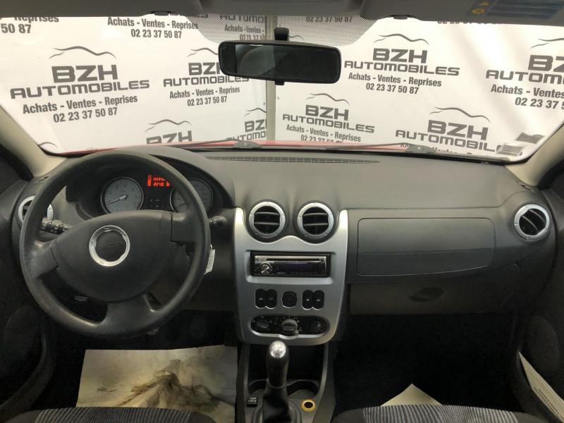 Photo 6 de l'offre de DACIA SANDERO 1.4 MPI 75CH GPL à 4490€ chez BZH Automobiles