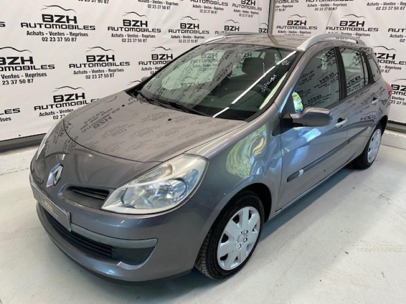 Renault CLIO III ESTATE 1.2 16V 80CH AUTHENTIQUE Essence GRIS FER Occasion à vendre