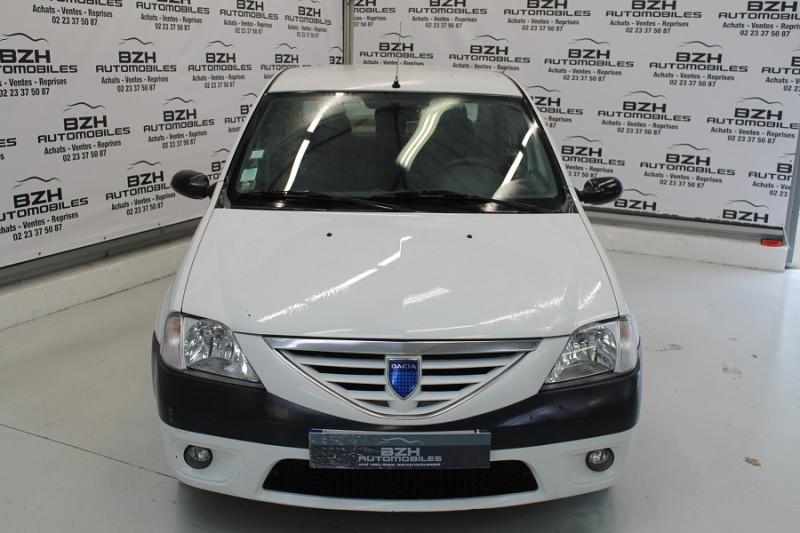 Dacia LOGAN 1.4 MPI 75CH Essence BLANC Occasion à vendre