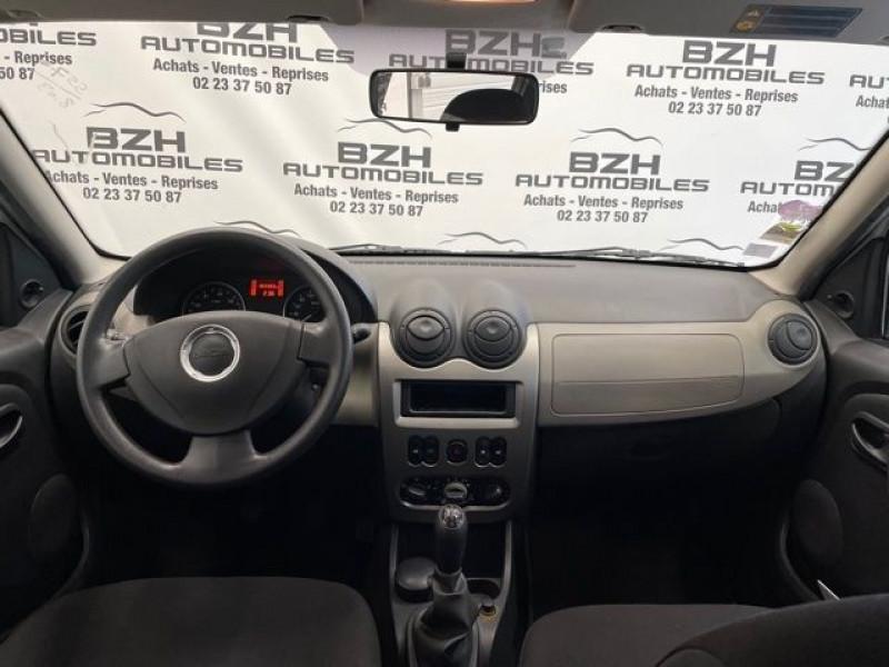 Photo 10 de l'offre de DACIA SANDERO 1.2 16V 75CH AMBIANCE EURO5 à 5490€ chez BZH Automobiles