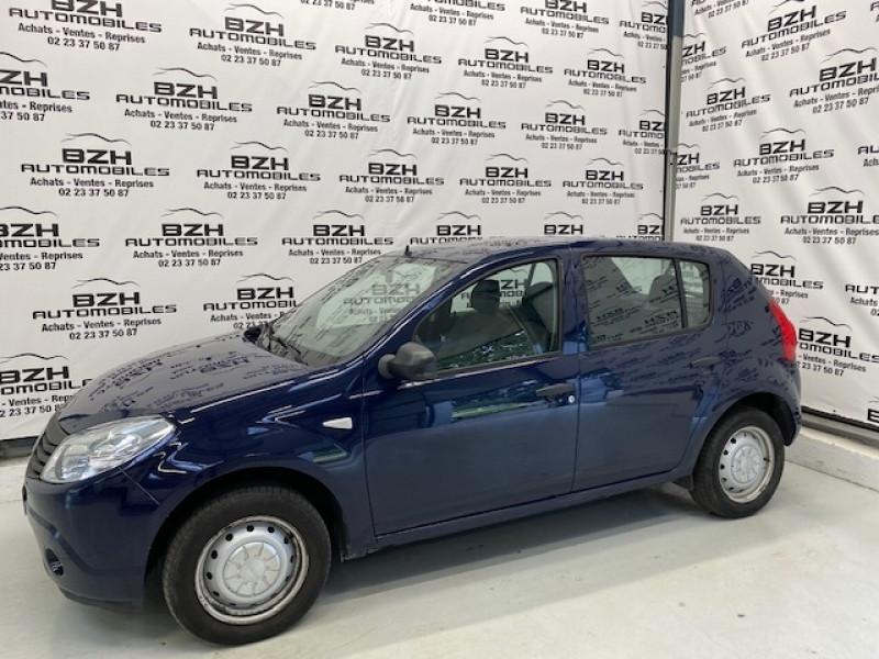 Dacia SANDERO 1.2 16V 75CH EURO5 Essence BLEU Occasion à vendre