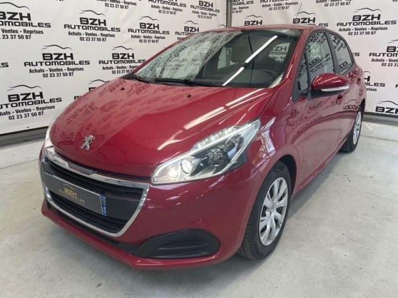 Peugeot 208 1.6 BLUEHDI 75CH CONFORT 5P Diesel ROUGE Occasion à vendre
