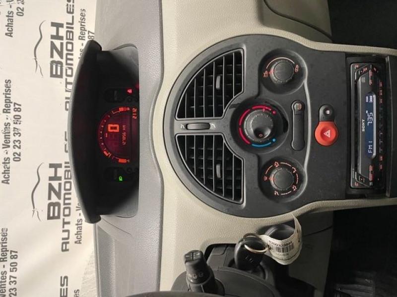 Photo 7 de l'offre de RENAULT MODUS 1.4 16V 98CH PACK AUTHENTIQUE à 4490€ chez BZH Automobiles
