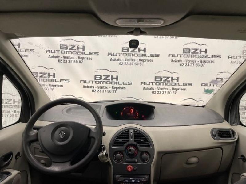 Photo 6 de l'offre de RENAULT MODUS 1.4 16V 98CH PACK AUTHENTIQUE à 4490€ chez BZH Automobiles