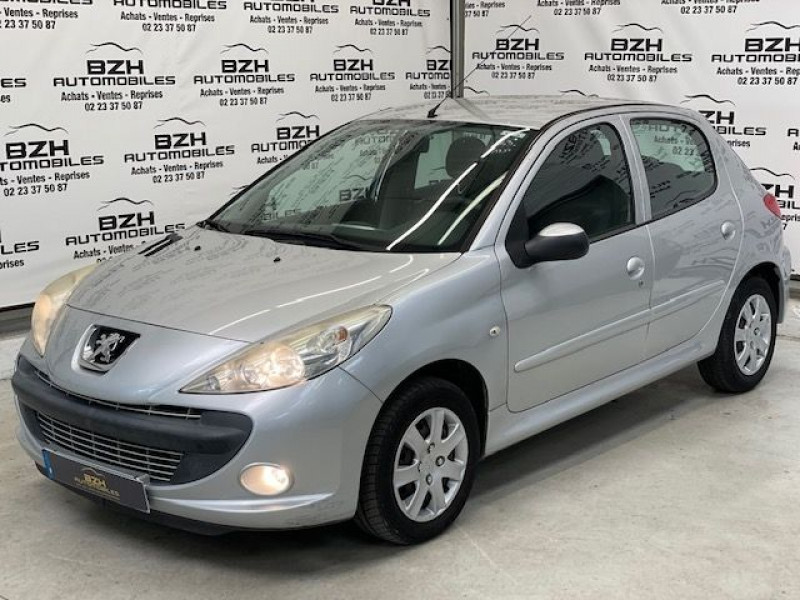 Peugeot 206 + 1.1 TRENDY 5P Essence GRIS Occasion à vendre