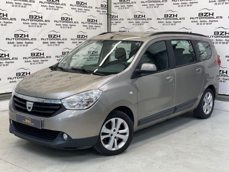 Dacia LODGY 1.5 DCI 110CH ECO² LAUREATE 7 PLACES Diesel BEIGE Occasion à vendre