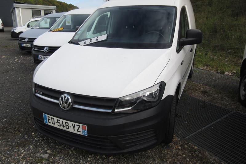 Volkswagen CADDY VAN 4MOTION 2.0 122CH BUSINESS LINE Diesel BLANC Occasion à vendre