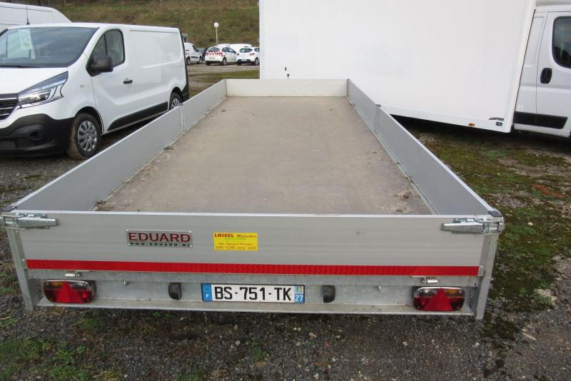 Photo 3 de l'offre de EDUARD REMORQUE 6M PLATEAU RIDELLE 6M à 4200€ chez L'utilitaire Normand