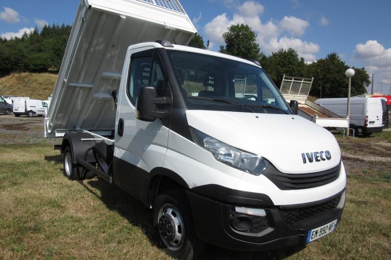Iveco 35 C 14 BENNE DAILY Diesel BLANC Occasion à vendre