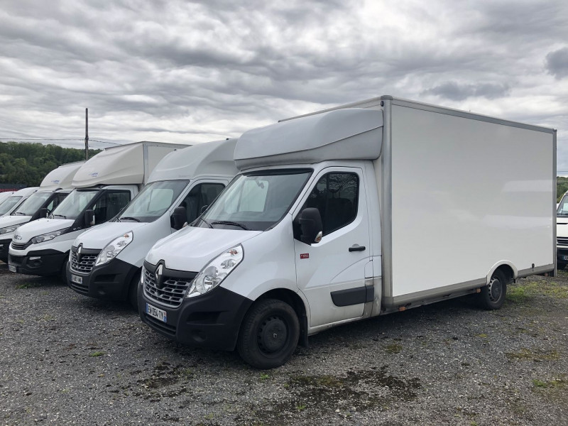 Renault MASTER III ENERGY 145 CH CAISSE MEUBLE Diesel BLANC Occasion à vendre