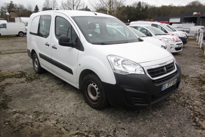 Peugeot PARTNER HDI100  5 PL CABINE APPROFONDIE Diesel BLANC Occasion à vendre