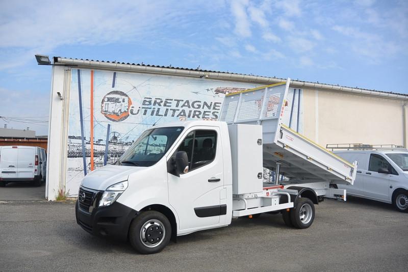 Nissan NV400 BENNE + COFFRE 3T5 RJ L3H1 2.3DCI 145 CV S/S OPTIMA Diesel BLANC Occasion à vendre