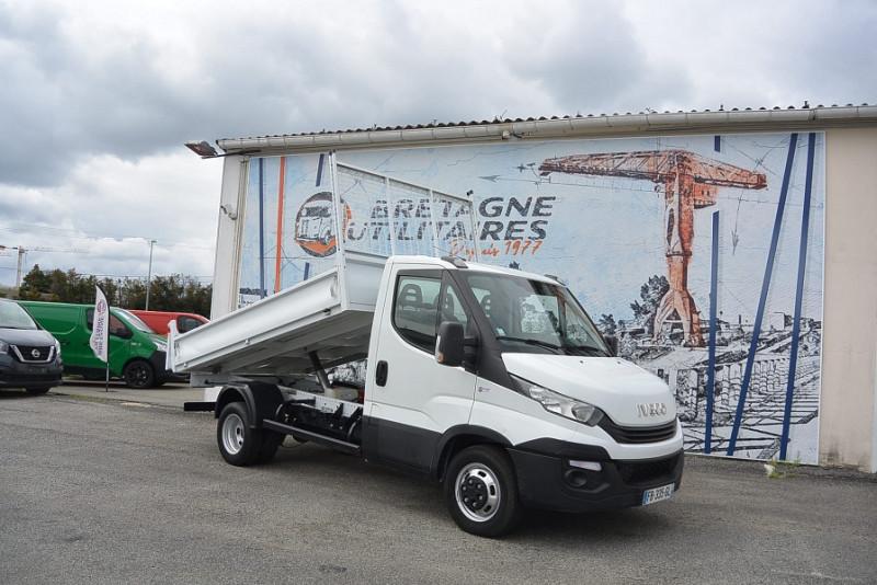 Iveco DAILY 35C14 BENNE EMPATTEMENT 3450 + OPTIONS Diesel BLANC Occasion à vendre