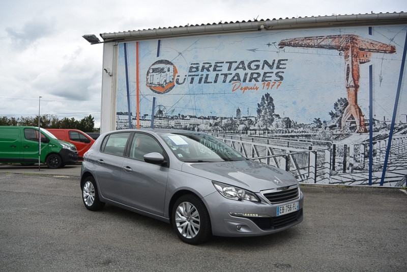 Peugeot 308 SOCIETE 2 PLACES 1.6 BLUEHDI 100 S&S ACTIVE BUSINESS Diesel GRIS METAL Occasion à vendre