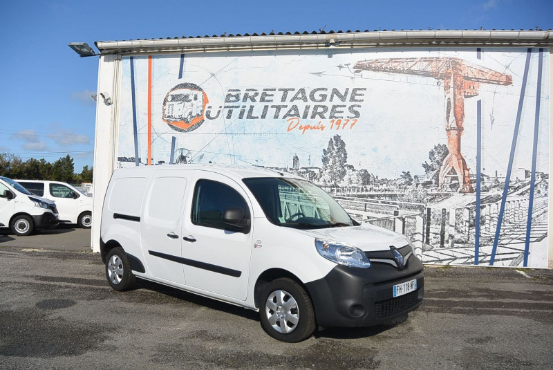 Renault KANGOO II EXPRESS MAXI 1.5 DCI 90CH GRAND VOLUME GRAND CONFORT Diesel BLANC Occasion à vendre
