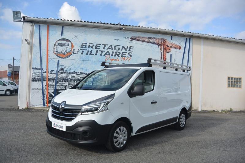 Renault TRAFIC L1H1 2.0 DCI 120CH GRD CFT + GPS + GALERIE Diesel BLANC Occasion à vendre