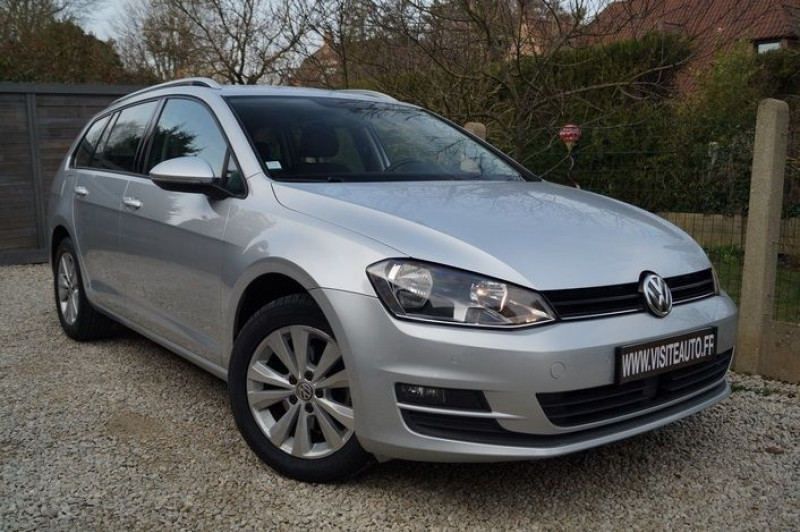Volkswagen GOLF VII SW 1.6 TDI 110CH BLUEMOTION TECHNOLOGY FAP CONFORTLINE BUSINESS DSG7 Diesel GRIS  Occasion à vendre