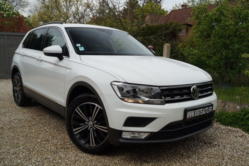 Volkswagen TIGUAN 1.4 TSI 150CH ACT BLUEMOTION TECHNOLOGY CONFORTLINE Essence BLANC Occasion à vendre