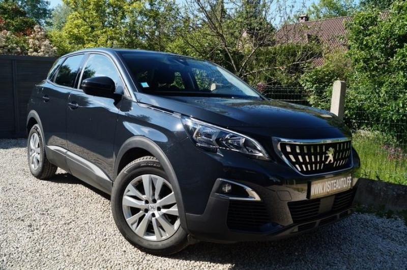 Peugeot 3008 1.5 BLUEHDI 130CH E6.C ACTIVE S&S Diesel GRIS  Occasion à vendre