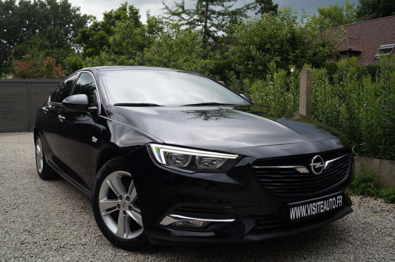 Opel INSIGNIA GRAND SPORT 1.6 D 136CH BUSINESS EDITION PACK EURO6DT Diesel NOIR Occasion à vendre
