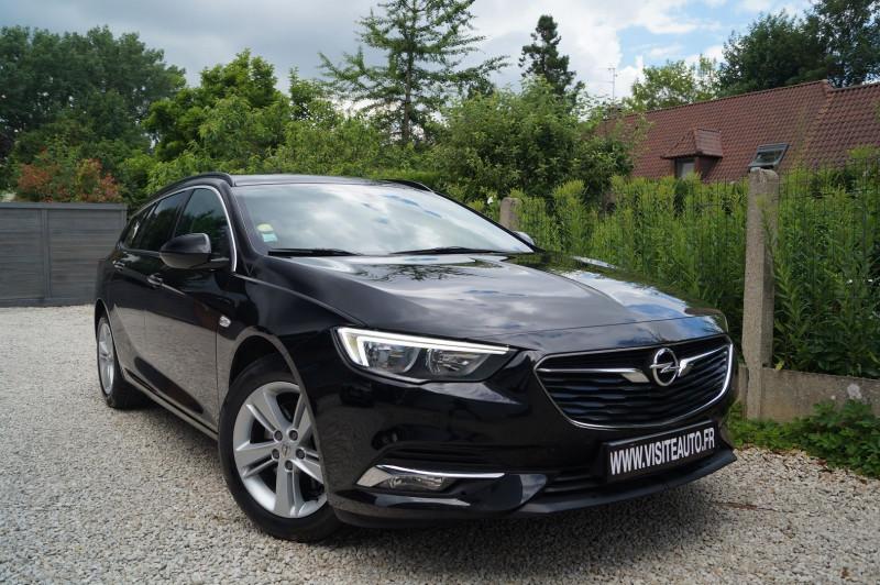 Opel INSIGNIA SP TOURER 1.6 D 136CH BUSINESS EDITION PACK BVA EURO6DT Diesel NOIR Occasion à vendre