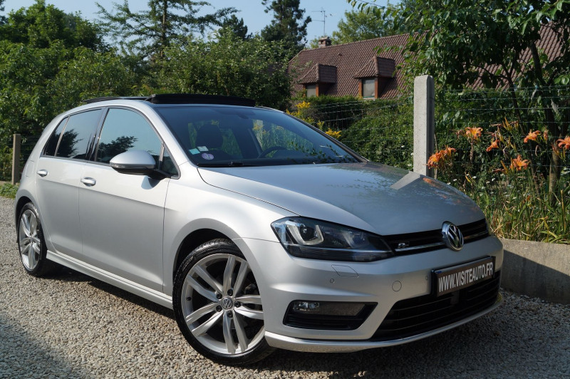 Volkswagen GOLF VII 1.4 TSI 150CH CARAT PACK R-LINE EXTER / INTER Essence GRIS  Occasion à vendre