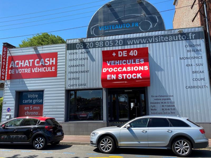 Peugeot 308 1.6 BLUEHDI 120CH FELINE S&S EAT6 5P Diesel BLANC Occasion à vendre