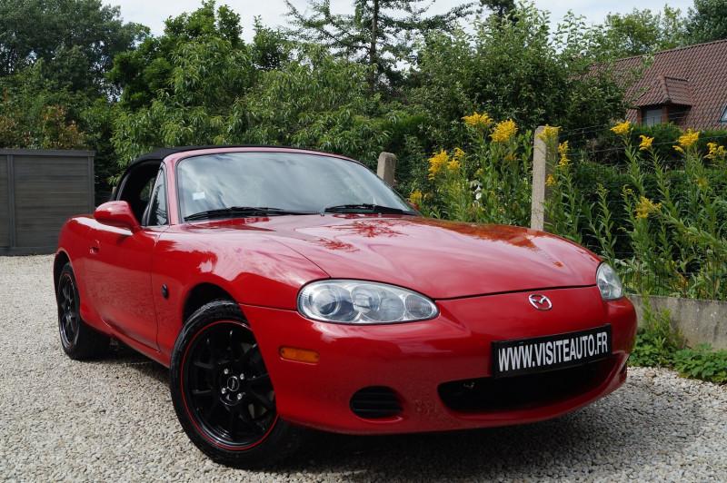 Mazda MX-5 1.6 ETNA Essence ROUGE Occasion à vendre