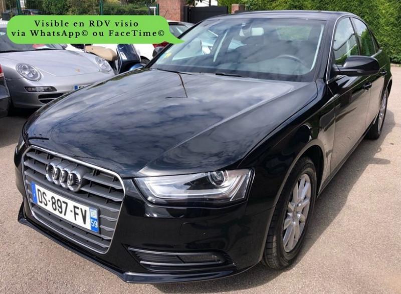 Audi A4 2.0 TDI 150CH CLEAN DIESEL DPF BUSINESS LINE MULTITRONIC EURO6 Diesel NOIR Occasion à vendre