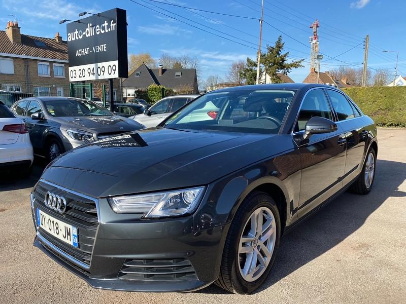 Audi A4 2.0 TDI 150 CH BUSINESS LINE S TRONIC 7 Diesel GRIS F Occasion à vendre