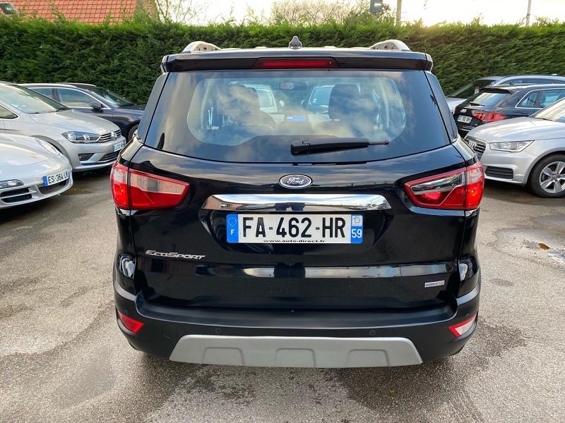 Photo 6 de l'offre de FORD ECOSPORT 1.5 ECOBLUE 100CH TITANIUM EURO6.2 à 14900€ chez auto-direct.fr