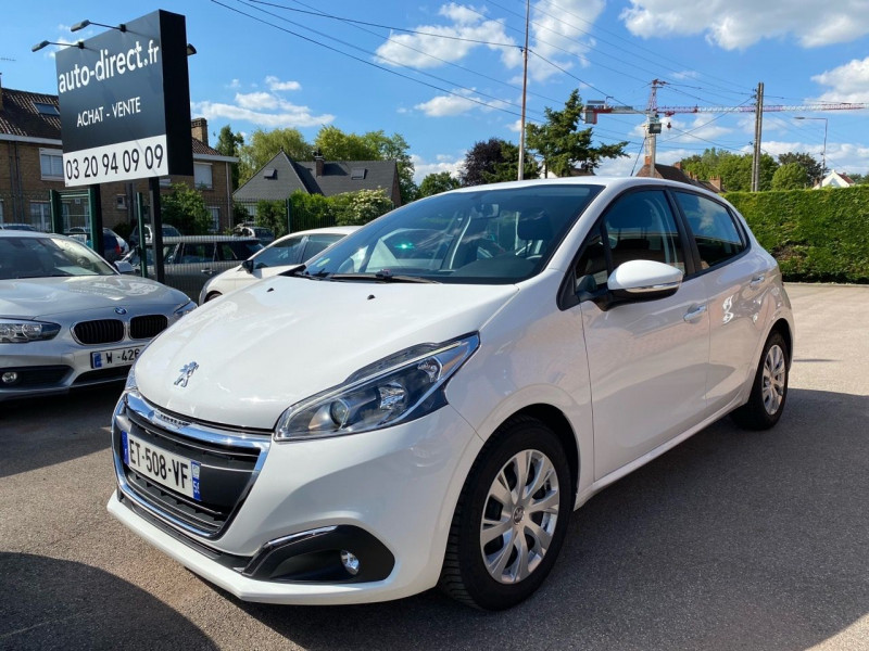 Peugeot 208 1.6 BLUEHDI 100 CH ACTIVE BUSINESS S&S 5P Diesel BLANC Occasion à vendre