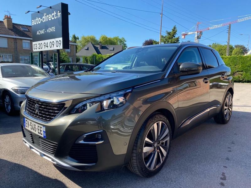 Peugeot 3008 1.6 BLUEHDI 120CH ALLURE BUSINESS S&S BASSE CONSOMMATION Diesel MARRON Occasion à vendre