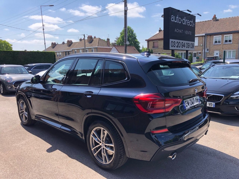 Photo 7 de l'offre de BMW X3 (G01) XDRIVE20DA 190 CH M SPORT EURO6C à 38650€ chez auto-direct.fr