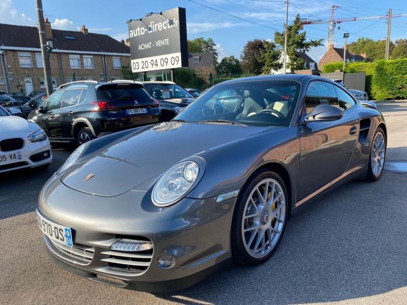 Porsche 911 COUPE (997) TURBO  S Essence GRIS ARGENT Occasion à vendre