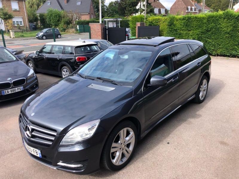Mercedes-Benz CLASSE R 350 CDI PACK SPORT 4 MATIC LONG Diesel GRIS  Occasion à vendre