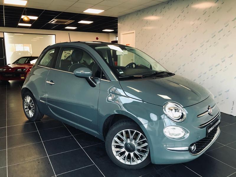 Fiat 500 1.2 8v 69ch Lounge Essence GRIS Occasion à vendre