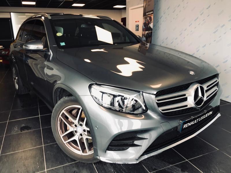 Mercedes-Benz GLC 250 d 204ch Sportline 4Matic 9G-Tronic Diesel GRIS Occasion à vendre