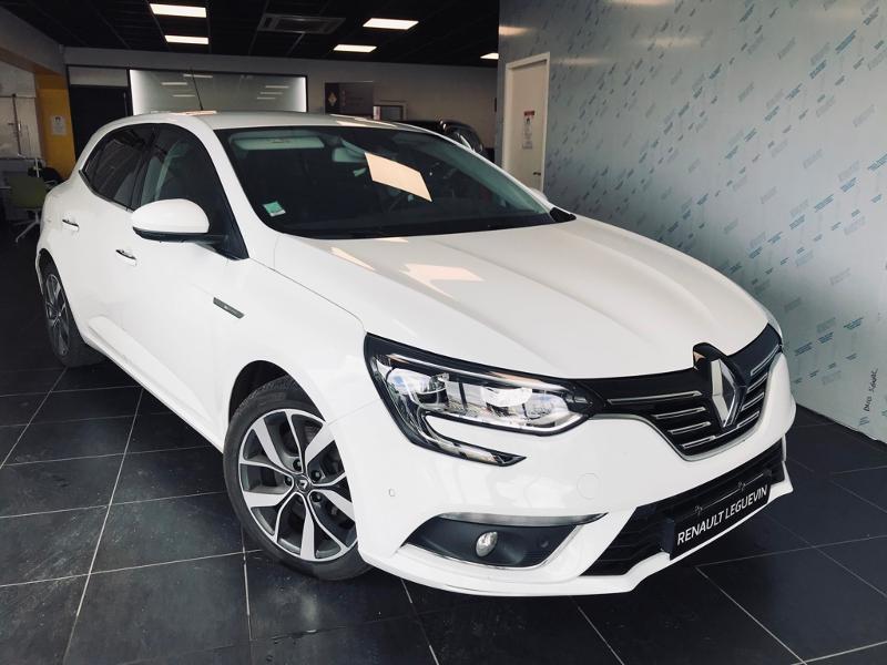 Renault Megane 1.6 TCe 165ch energy Intens EDC Essence BLANC Occasion à vendre