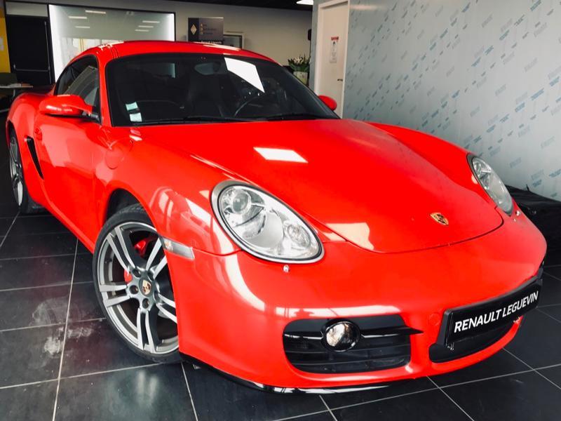Porsche Cayman 3.4 S Essence Rouge Occasion à vendre