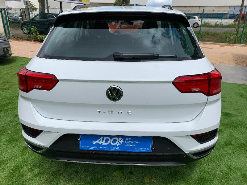 Photo 5 de l'offre de VOLKSWAGEN T-Roc 1.0 TSI 115ch Lounge Euro6d-T à 21490€ chez ADO - Auto Distribution Occitane - Toulouse