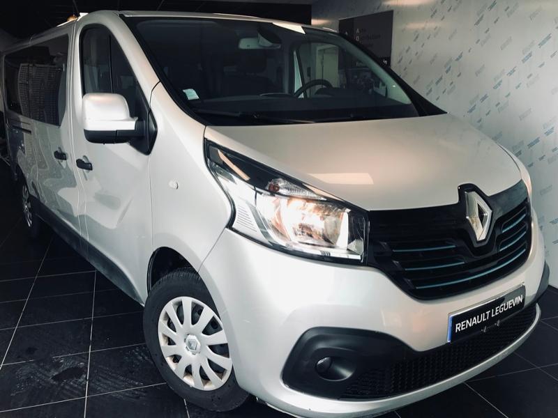 Renault Trafic Combi L2 1.6 dCi 125ch energy Intens2 9 places Diesel GRIS Occasion à vendre