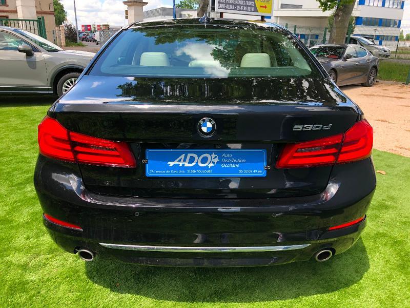 Photo 5 de l'offre de BMW Serie 5 530dA 265ch Luxury Steptronic à 34990€ chez ADO - Auto Distribution Occitane - Toulouse