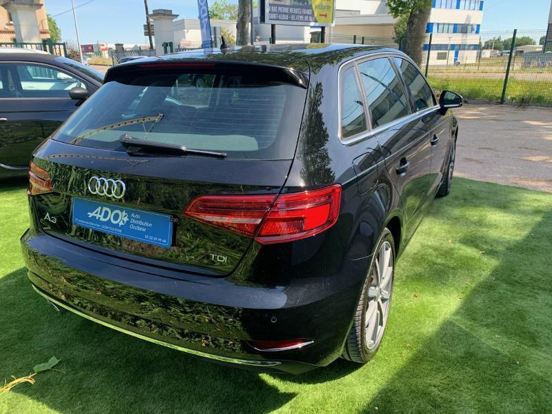 Photo 4 de l'offre de AUDI A3 Sportback 2.0 TDI 150ch Design luxe S tronic 7 à 25990€ chez ADO - Auto Distribution Occitane - Toulouse