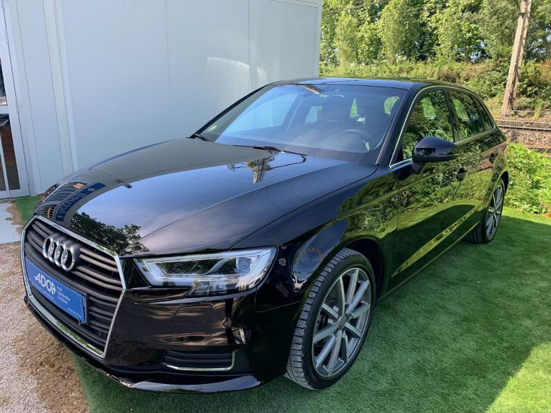 Audi A3 Sportback 2.0 TDI 150ch Design luxe S tronic 7 Diesel NOIR Occasion à vendre