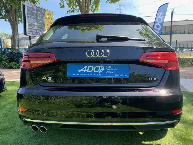 Photo 5 de l'offre de AUDI A3 Sportback 2.0 TDI 150ch Design luxe S tronic 7 à 25990€ chez ADO - Auto Distribution Occitane - Toulouse